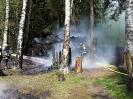 201505 - Brand eines Gartenhauses in Manzenberg am 13.05.2015