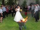 201506 - Spalierstehen Hochzeit von Anna und Christian Schreyer